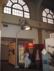 Kiss Streetlight in Hershey Museum