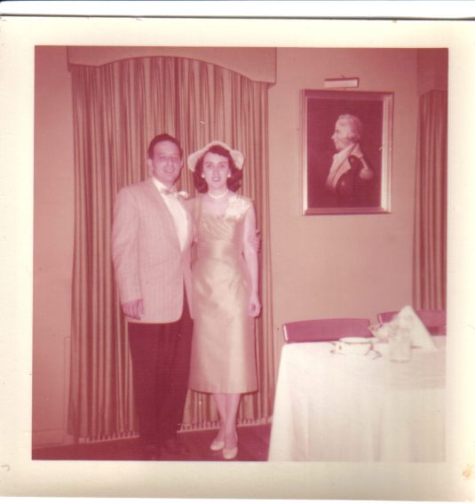 My parents wedding