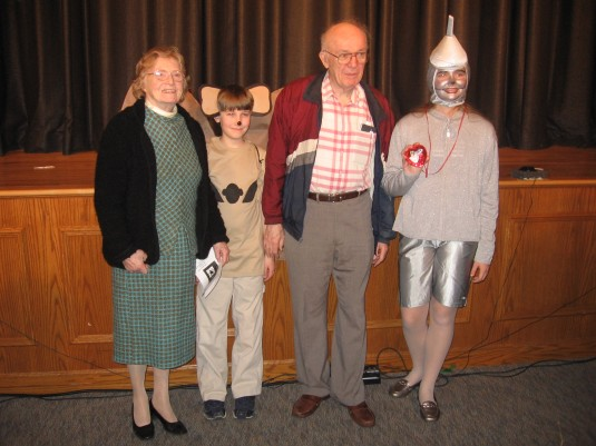 My in-laws with Sami-the tinman