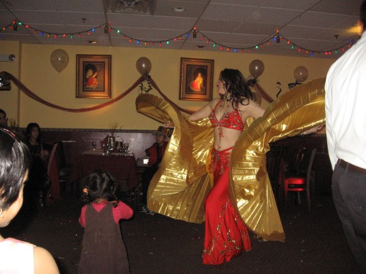 Dance of the Belly dancer