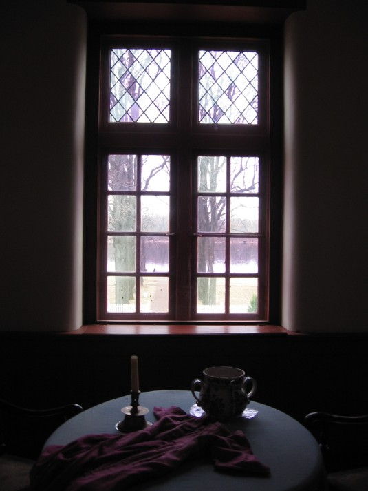 The View of the Delaware from Hannah Penn's sitting room