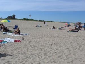 more Sand than ocean .......where's the seashells?