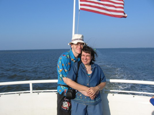 On the Dolphin watch boat from Captiva Island, Florida