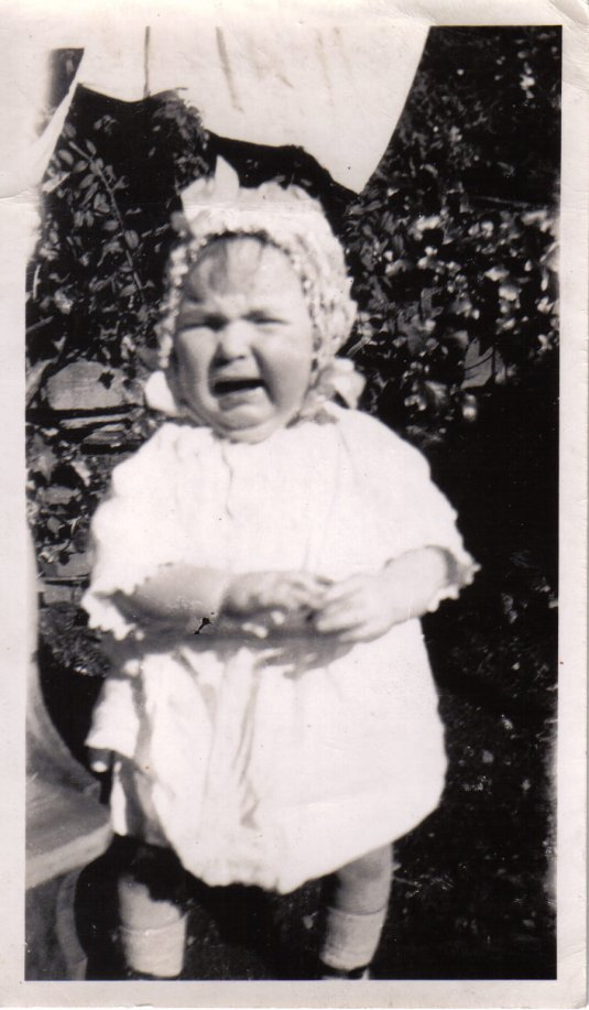 Cute bonnet, Bantry Ireland 1926
