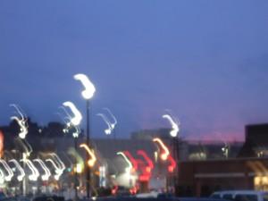lights reflection