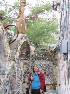 Grace By the Tiled Arches in the Magic Gardens, 1022-1026 South Street.