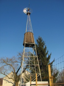Restored Windmill at the Updike Farmstead