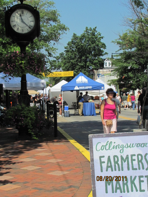 Collingswood Farmers market, every Saturday 8 to 12