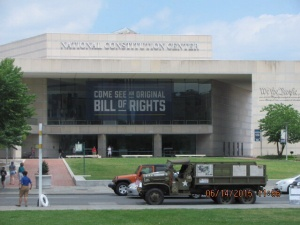 Flag Day at the National Constitution Center in Philadelphia, PA